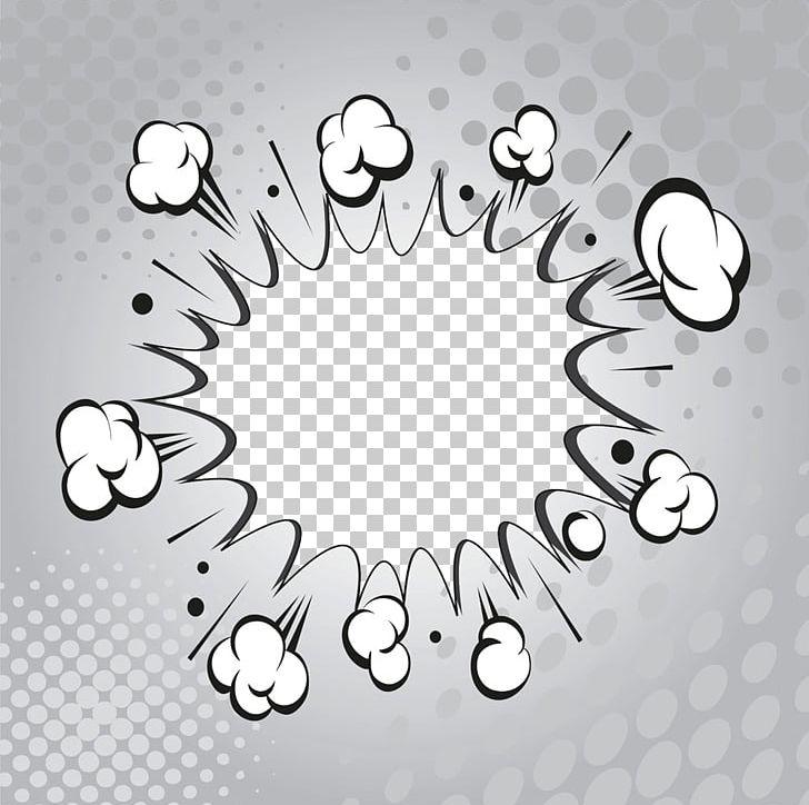 Comic Book Explosion Speech Balloon Comics PNG, Clipart, Box