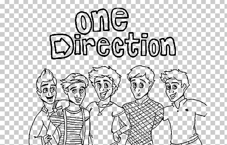 Colouring Pages One Direction Coloring Book Drawing Png
