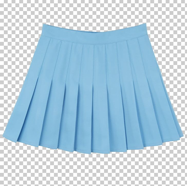 Skirt Skort Pleat Overall Clothing Png Clipart Aqua Blue Braces Clothing Corduroy Free Png Download
