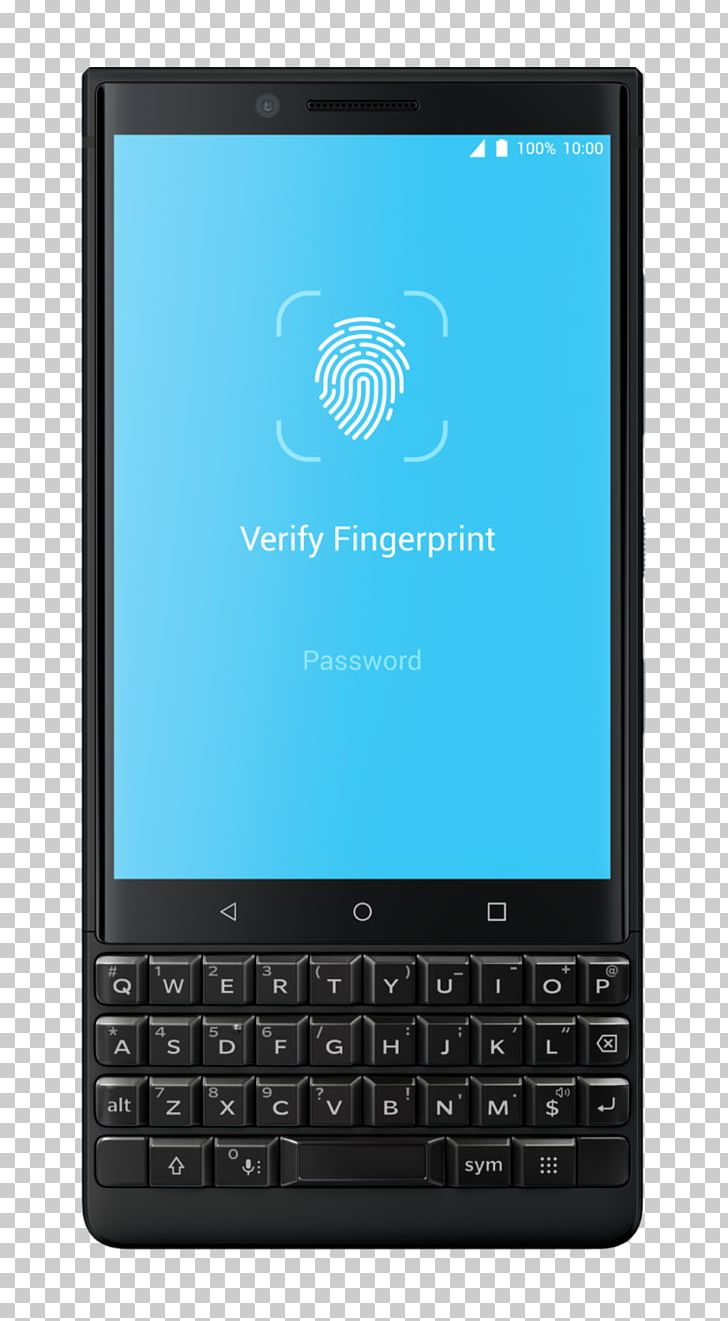BlackBerry KEYone BlackBerry Key2 Smartphone (Unlocked PNG