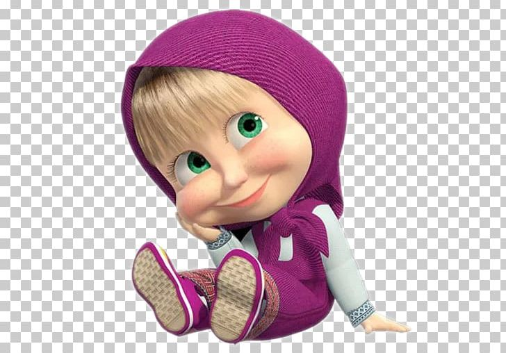 Masha And The Bear High Definition Television Png Clipart