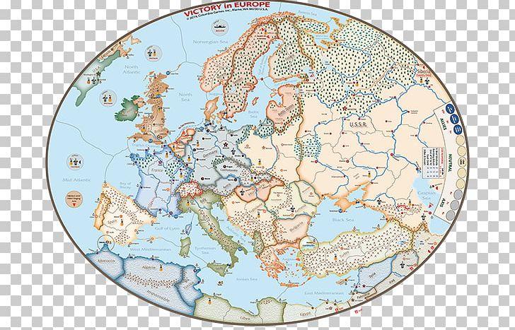 Axis & Allies Second World War Map Europe Battle Of The ...