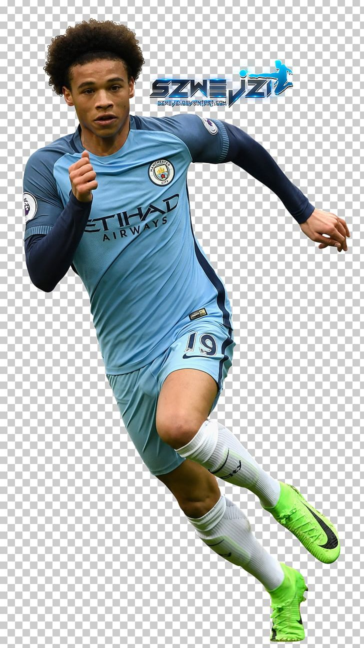 Leroy Sané Manchester City Fc Football Player Fc Schalke