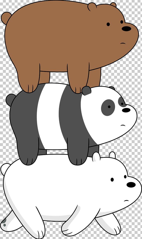 We Bare Bears We Go Everywhere Handbook Giant Panda Dvd