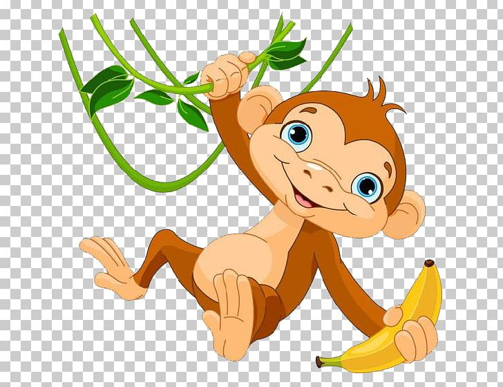 Baby Monkeys The Evil Monkey PNG, Clipart, Animals, Baby Monkeys, Banana Leaves, Carnivoran, Cartoon Character Free PNG Download