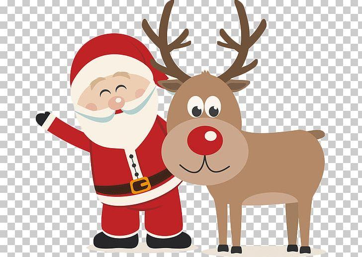 Christmas Reindeer Png.Rudolph Reindeer Santa Claus Christmas Png Clipart Cartoon
