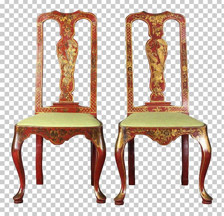 Chair Table Queen Anne Style Furniture Dining Room PNG