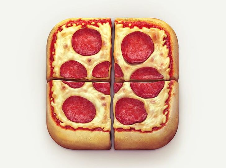 Pizza Computer Icons Icon Design PNG, Clipart, Cheese, Computer Icons, Cuisine, Dish, Dribbble Free PNG Download