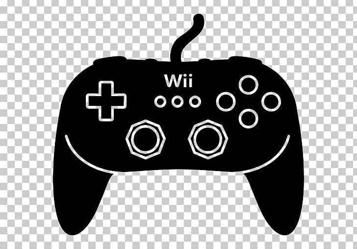 Wii Remote Wii U Xbox 360 Classic Controller Png Clipart Black