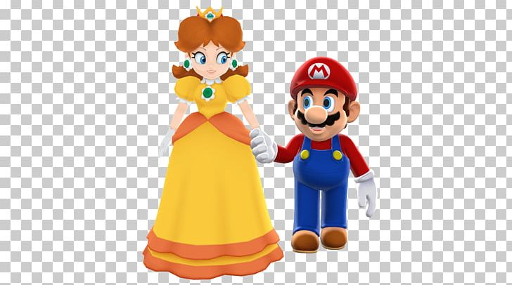 Luigi daisy. Princess peach super paper