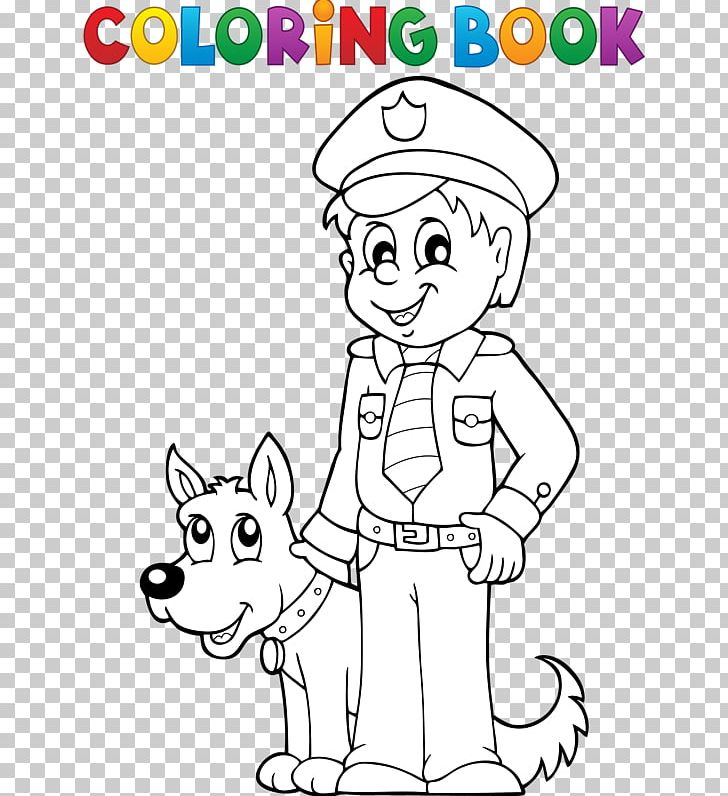 - Police Officer Coloring Book PNG, Clipart, Angle, Animals, Black, Black And  White, Cartoon Free PNG Download