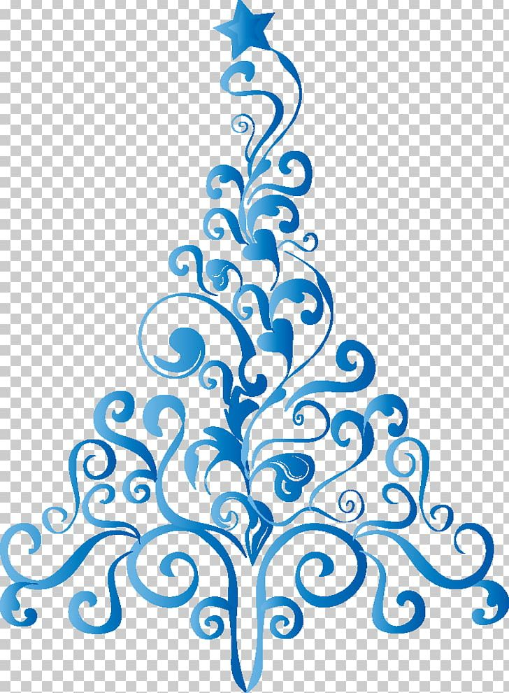 Christmas tree blue. Png clipart artwork black