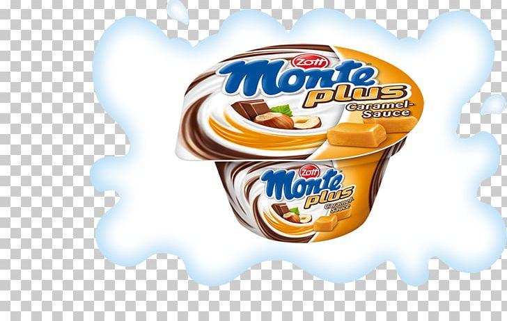 Zott Monte Dessert Flavor Caramel Png Clipart Brand Caramel Caramel Sauce Chocolate Convenience Food Free Png