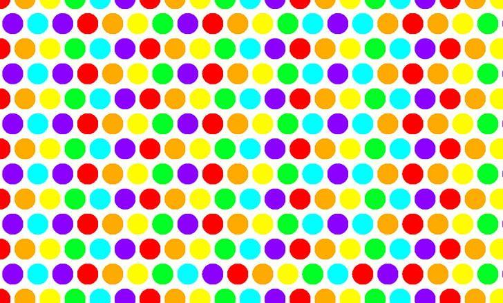 Link Rainbow Dots Polka Dot Desktop Png Clipart Area