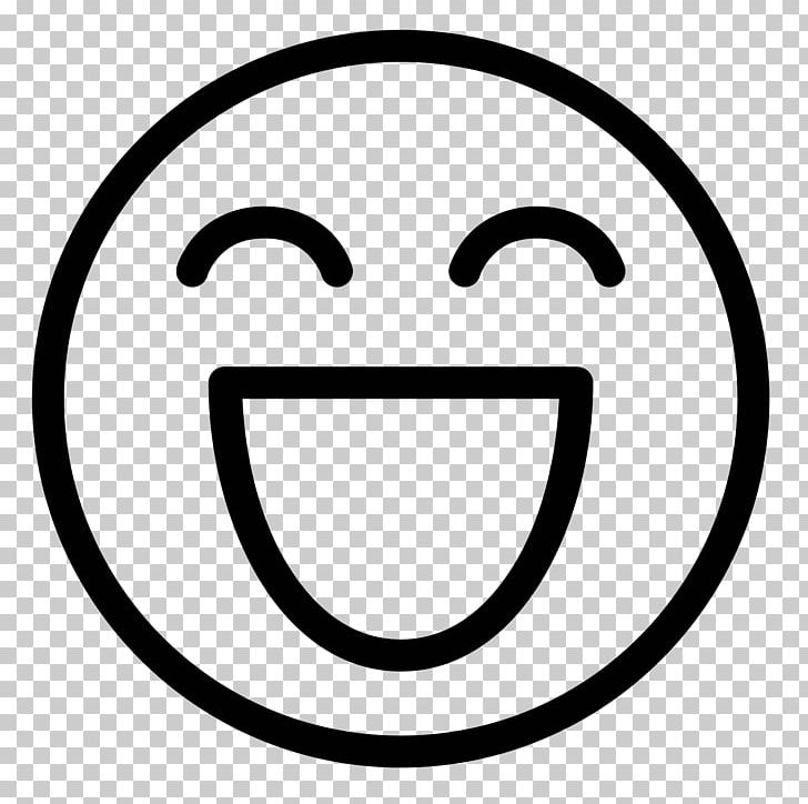 Emoticon Smiley Computer Icons PNG, Clipart, Area, Black And White, Circle, Computer Icons, Download Free PNG Download