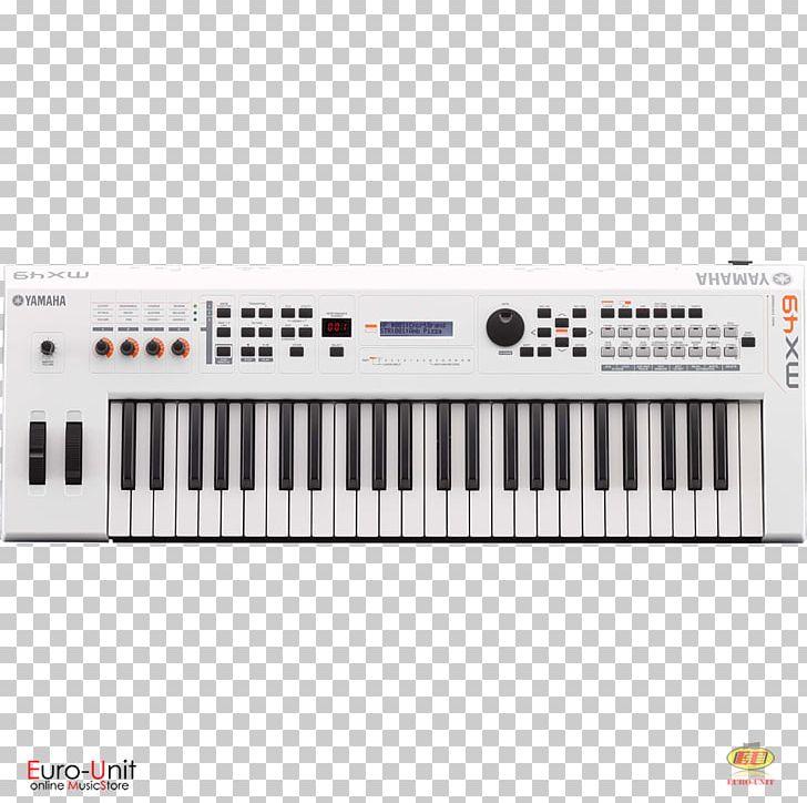 Yamaha MX49 II Synthesizer Yamaha MX61 Sound Synthesizers Yamaha