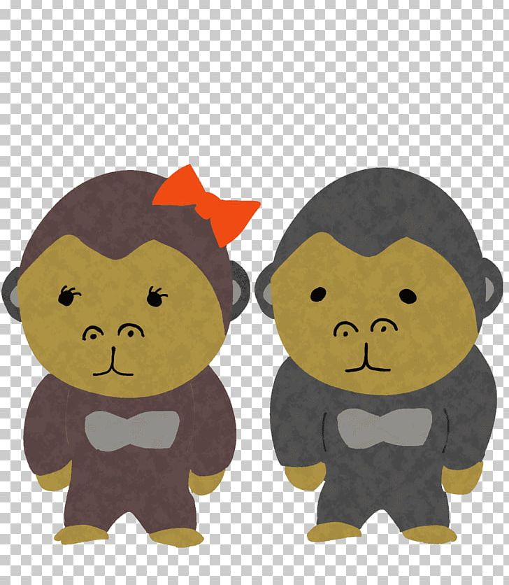 Gorilla Monkey Illustration Cartoon PNG, Clipart, Blog, Carnivoran, Cartoon, Character, Computer Icons Free PNG Download