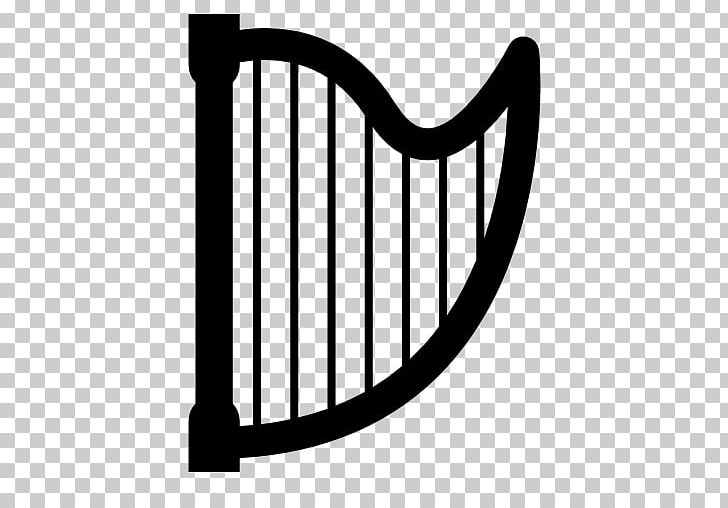String Instruments Musical Instruments Harp PNG, Clipart, Black And White, Guitar, Harp, Line, Monochrome Free PNG Download