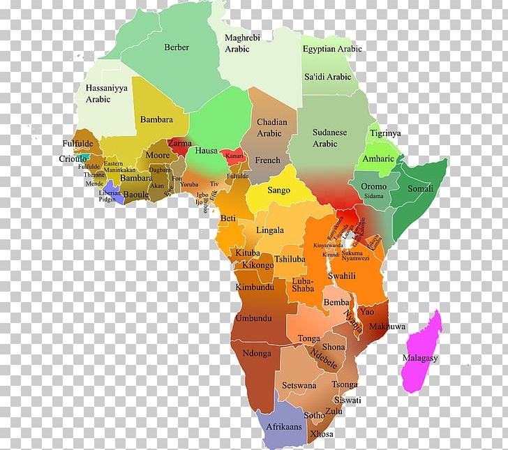 Languages Of Africa Map Swahili PNG, Clipart, Africa, Area, Diagram ...