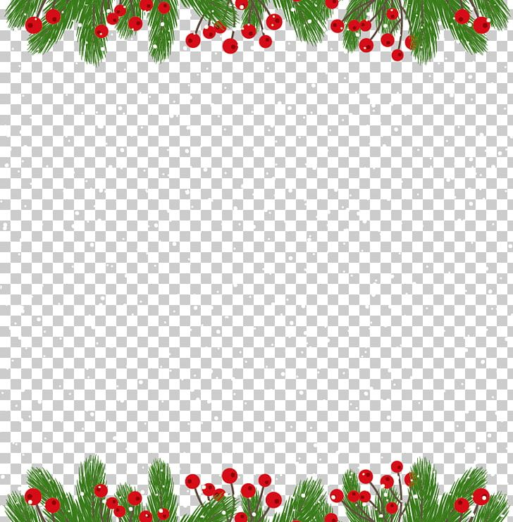 Christmas Card Border.Christmas Card New Year Gift Png Clipart Border Border