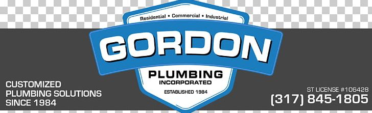 Gordon Plumbing PNG, Clipart, Advertising, Blue, Brand, Contractor, General Contractor Free PNG Download