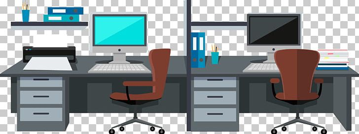 Office Room Interior Design Services Illustration PNG, Clipart, Angle, Business, Cloud Computing, Computer, Computer Desk Free PNG Download