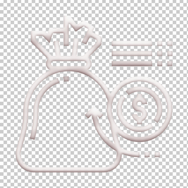 Cash Icon Money Bag Icon Saving And Investment Icon PNG, Clipart, Black, Black And White, Cash Icon, Line, Logo Free PNG Download