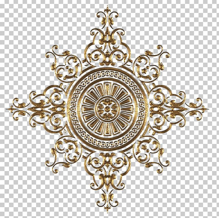 Ornament Decorative Arts Gold PNG, Clipart, Art, Brass, Circle, Clock, Decor Free PNG Download