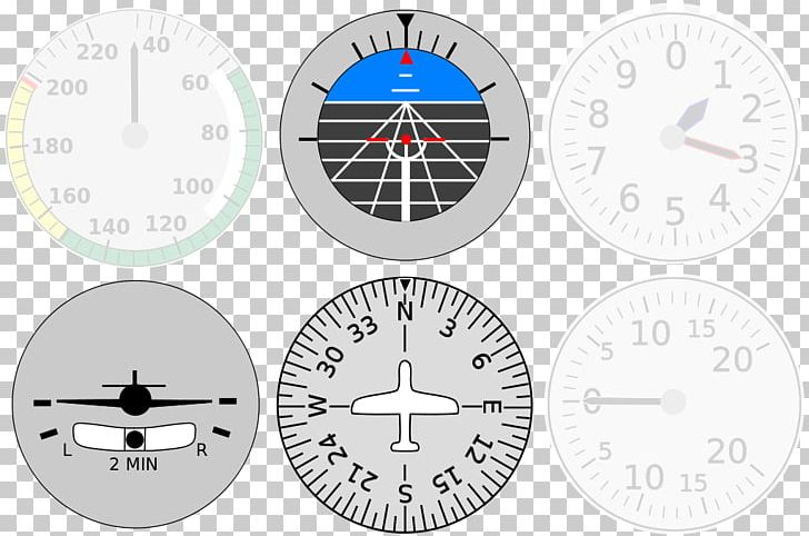 Airplane Aircraft Flight Instruments Instrument Flight Rules PNG