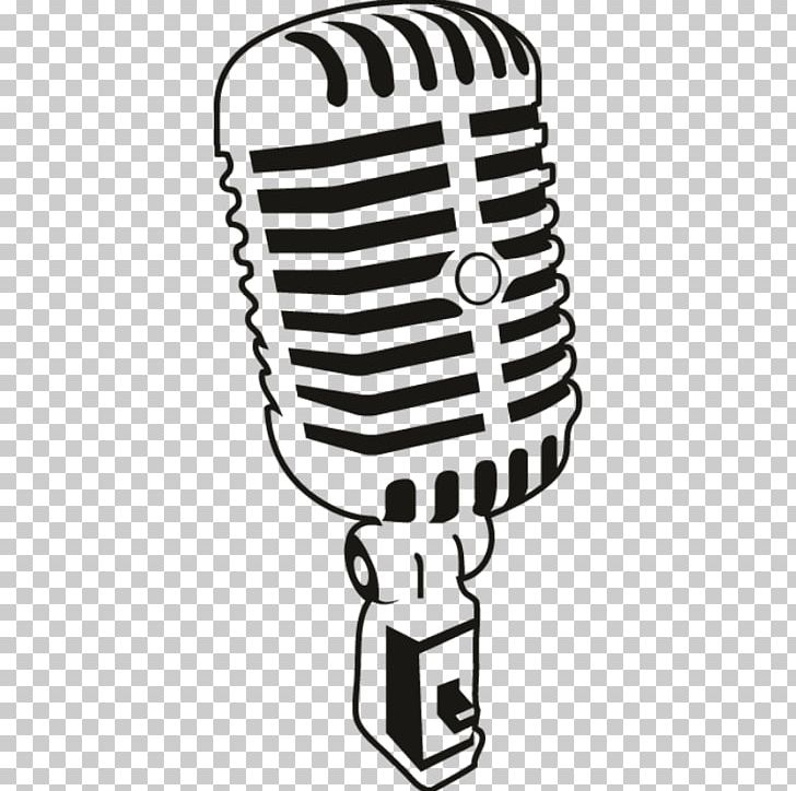 Microphone Drawing PNG, Clipart, Audio, Audio Equipment, Black And White, Clip Art, Drawing Free PNG Download