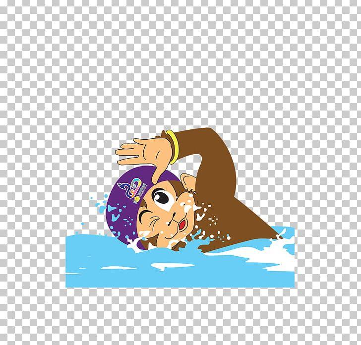 Swimming Cartoon Sport Png Clipart Art Ball Cartoon Clip Art Computer Wallpaper Free Png Download