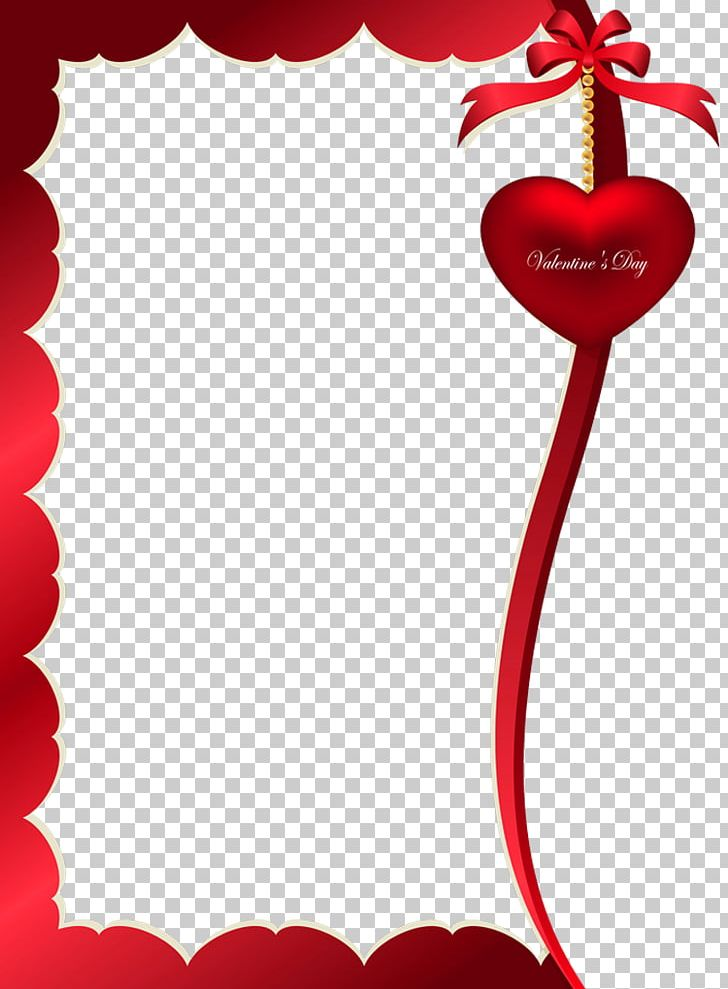Valentine's Day Frame PNG, Clipart, Craft, Decorative Arts, Design, Font, Gift Free PNG Download