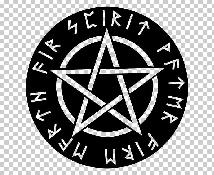 Wicca Pentagram Pentacle Witchcraft PNG, Clipart, Area, Black And White, Brand, Circle, Clip Art Free PNG Download