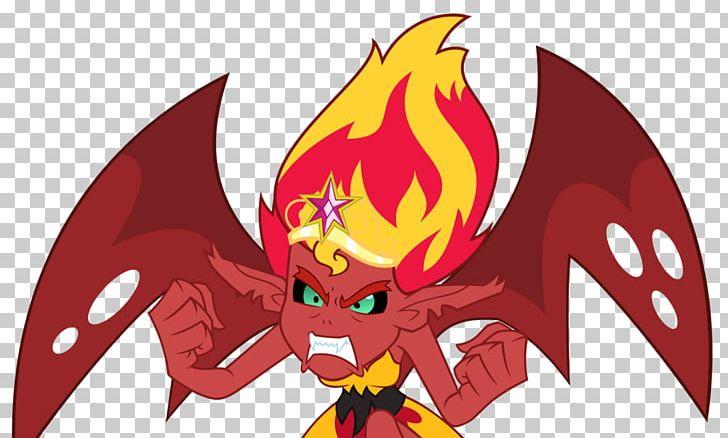 Sunset Shimmer Demon Desktop Png Clipart Anime Cartoon
