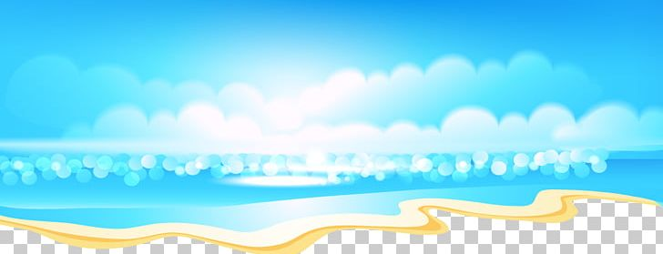 Cartoon clouds beach. Png clipart atmosphere of