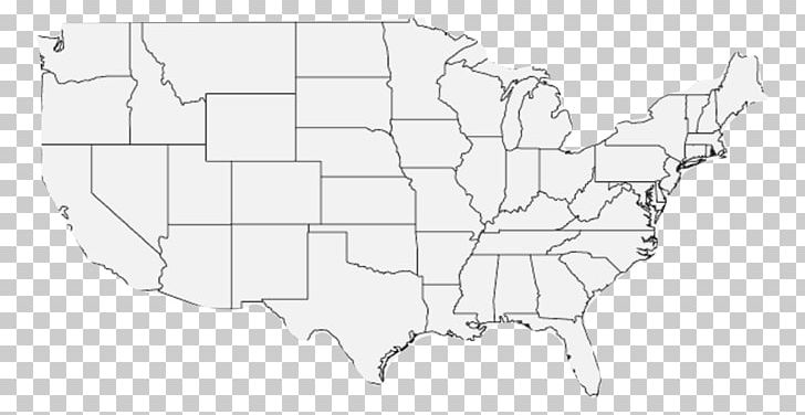 Contiguous United States Blank Map Alaska World Map PNG ...