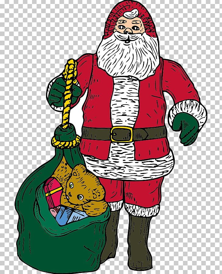 Santa Claus Bag PNG, Clipart, Art, Bag, Christmas, Christmas Decoration, Christmas Ornament Free PNG Download