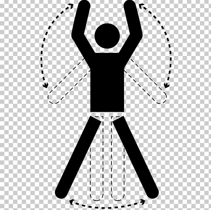 Jumping Jack Exercise Physical Activity Obesity Stress PNG, Clipart, Area, Arm, Black, Black And White, Circle Free PNG Download