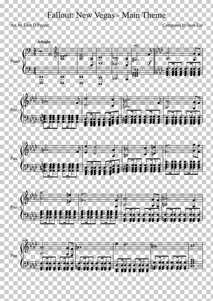Sheet Music Song The Avatar State MuseScore PNG, Clipart