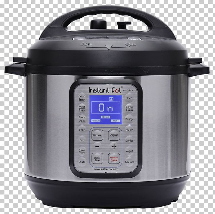 Instant Pot Duo Plus 9-in-1 Pressure Cooking Slow Cookers Multicooker PNG, Clipart, Barbacoa, Cooking, Dish, Electric Kettle, Food Free PNG Download