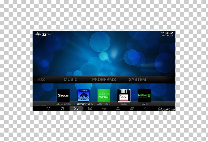 LED-backlit LCD Kodi Android TV Set-top Box PNG, Clipart