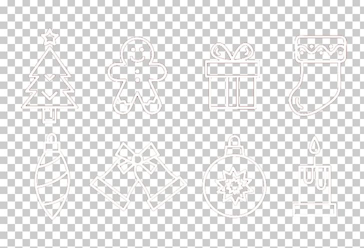 Black And White Square Pattern PNG, Clipart, Angle, Black And White, Christmas Decoration, Christmas Frame, Christmas Lights Free PNG Download