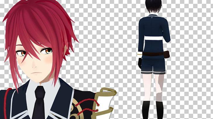 Touken Ranbu VRChat MikuMikuDance File Formats PNG, Clipart, Anime