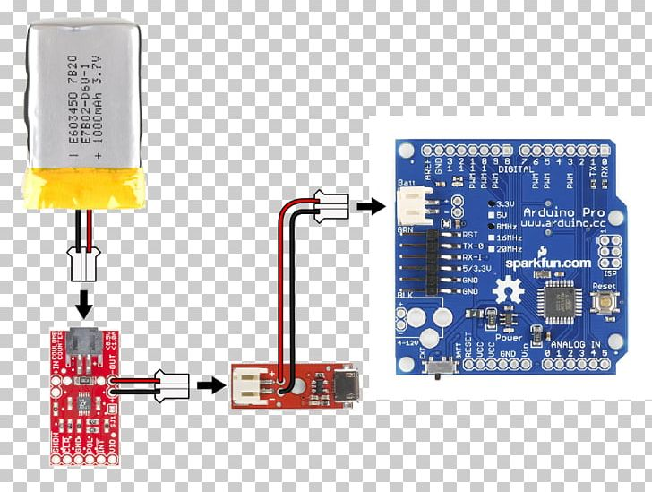 Microcontroller Lithium Polymer Battery Battery Charger