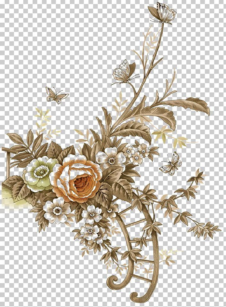 Flower Vintage Clothing PNG, Clipart, Albom, Antique, Branch, Clip Art, Cut Flowers Free PNG Download