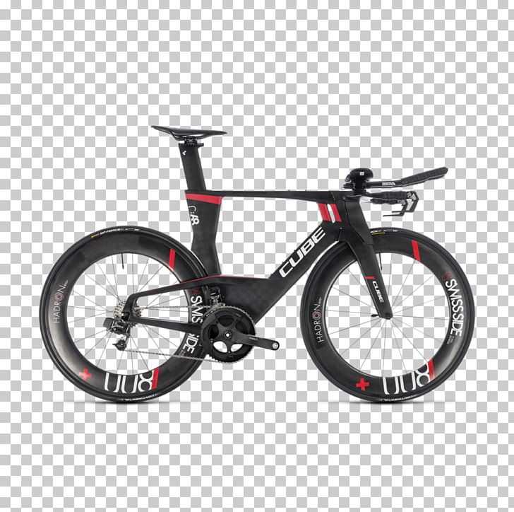 Time Trial Bicycle Cube Bikes Triathlon Equipment PNG