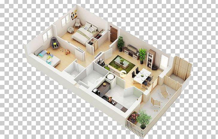 Apartment 3D Computer Graphics 3D Floor Plan House PNG ...