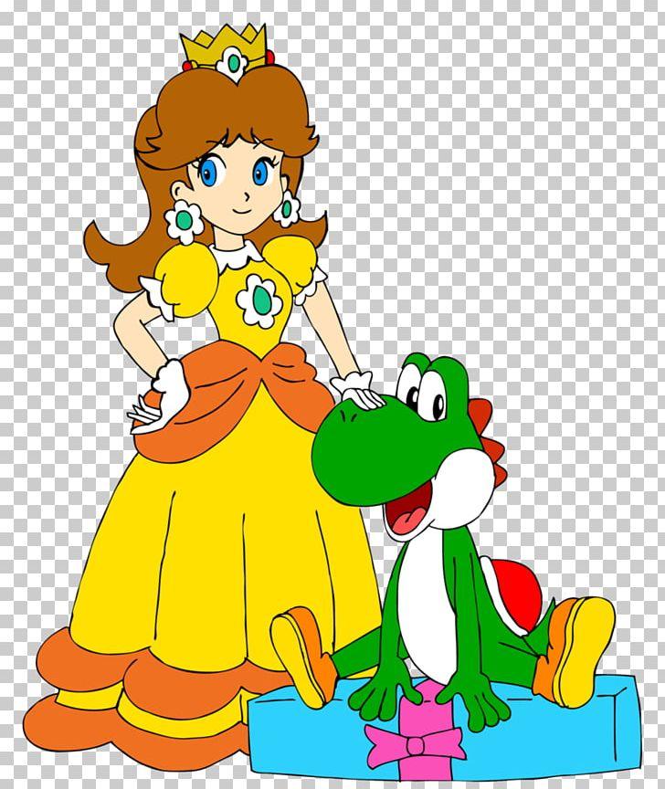 Mario & Yoshi Princess Daisy Paper Mario Princess Peach Luigi PNG, Clipart, Animal Figure, Area, Art, Artwork, Baby Daisy Free PNG Download