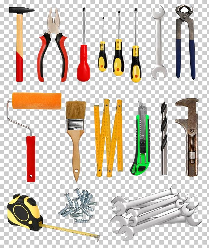 Hand Tool Household Hardware Computer Hardware Industry PNG, Clipart, Brush, Construction Tools, Creative Artwork, Creative Background, Creative Graphics Free PNG Download