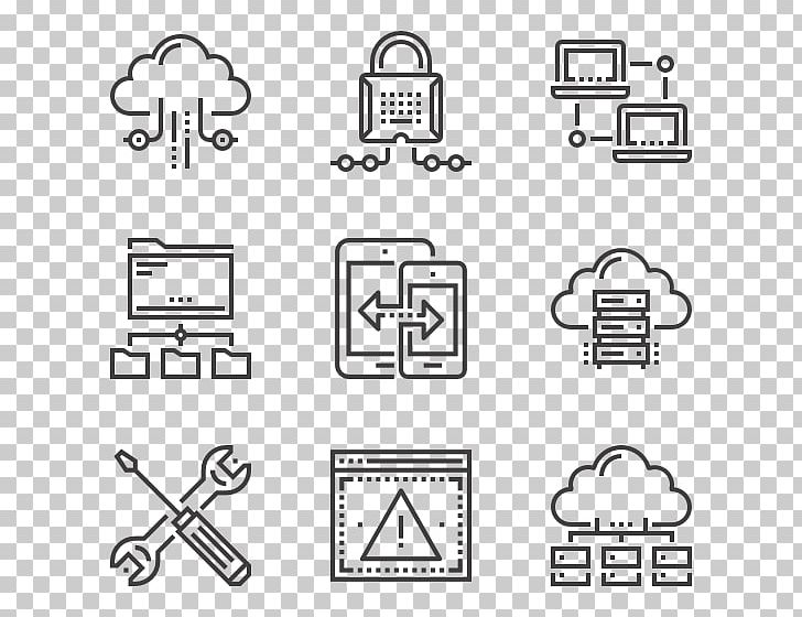 Computer Icons Cloud Computing Computer Network Scalable Graphics PNG, Clipart, Angle, Bla, Cloud Computing, Computer, Computer Font Free PNG Download